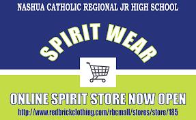 catholic stores online wildcat spirit store is open nashua catholic regional junior high