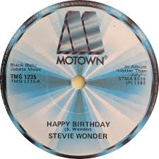stevie wonder happy birthday 45cat stevie wonder happy birthday happy birthday sing a long