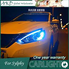 nissan sentra lights on dashboard online get cheap nissan sylphy headlights aliexpress com