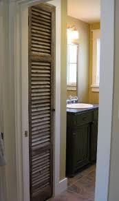 Bathroom Closet Door Antique Shutter As Linen Closet Door Antique Sideboard As
