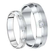wedding rings his and hers his hers white gold wedding rings matching sets for groom and