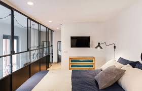 mezzanine chambre loft n par nomade architettura cadre photo lofts and bedrooms