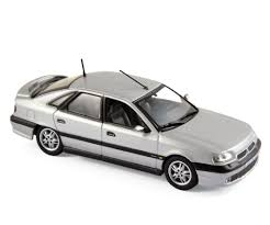 renault silver 1993 renault safrane biturbo in silver 1 43 scale model by norev