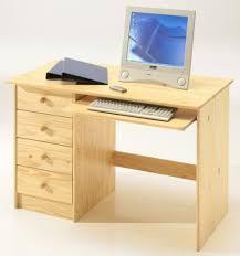 bureau en pin bureau pin massif pas cher