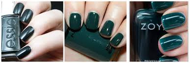 sd beauty review chanel le vernis vert obscur nail polish style