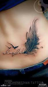 25 beautiful small feather tattoos ideas on pinterest feather