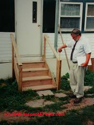 Mobile Home Exterior Doors For Sale Mobile Home Entrance Steps Photo Gallery 12 Cedar For Front Door