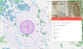 Map Radius Where Not To Fly A Drone In Salt Lake City U2013 The Official