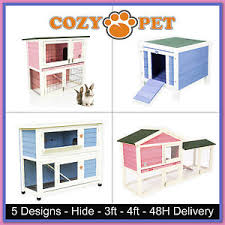 Ferret Hutches And Runs Rabbit Hutch By Cozy Pet Guinea Pig Hutches Run Pink U0026 Blue Rabbit