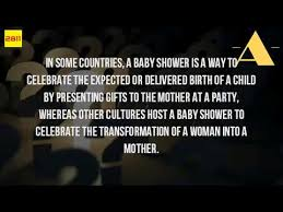 what is the meaning of a baby shower