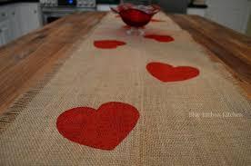 valentine s day table runner a valentine table runner that s all heart hometalk