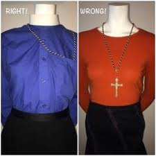 clergy cords how and when to wear a clergy cross dr debora hooper the