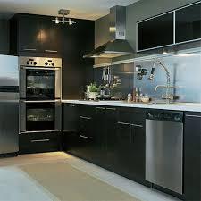 Steel Kitchen Cabinet Breakfast Bar Kitchen Stainless Steel Normabudden Com