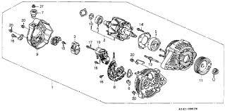 1999 honda accord alternator honda store 1999 accord alternator denso parts