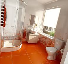 orange bathroom ideas 20 fresh orange bathroom ideas home design and interior