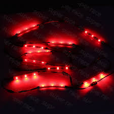 Strip Led Lights Ebay by 10pcs Led Car Under Glow Light Kit Multi Color Neon Strip For