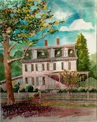 victorian house portraits google search house paintings