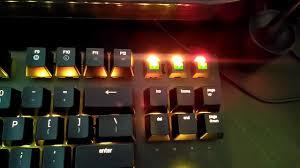 razer blackwidow chroma lights not working razer blackwidow x chroma led problem youtube