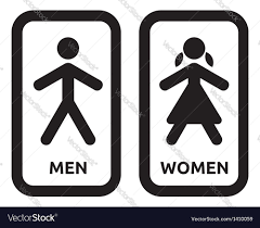 Mens And Womens Bathroom Signs Man And Woman Restroom Sign Best 25 Restroom Signs Ideas On
