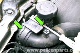 bmw e46 coolant expansion tank replacement bmw 325i 2001 2005