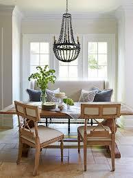 Elegant Dining Room Chandeliers Dining Room Cozy Dining Settee For Elegant Dining Furniture