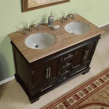 Double Vanity Cabinets Bathroom by 48