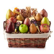 fruit and cheese gift baskets hickory farms reserve fresh from the farm basket hickory farms