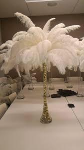 ostrich feather centerpiece best 25 feather centerpieces ideas on ostrich feather