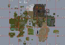 Oldschool Runescape World Map by Treasure Trails Guide Coordinates Runescape Wiki Fandom