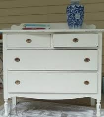 Shabby Chic Dressers by Classic White Shabby Chic Dresser Traditional St Louis By