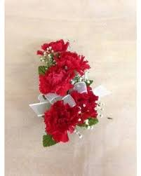 Red Prom Corsage Prom Corsages U0026 Boutonnieres Delivery Wilmington De Ron