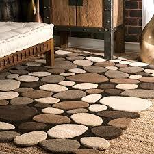 pebble rug pebble rug amazon com