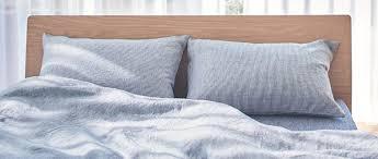 Plain Duvet Cover Linen Plain Weave Duvet Cover Light Blue Sd 170x210cm