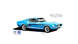 old ford cars revology u0027s shelby gt500 replica is an old ford mustang with
