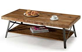 Rustic Teak Coffee Table 20 Photos Metal And Wood Coffee Tables