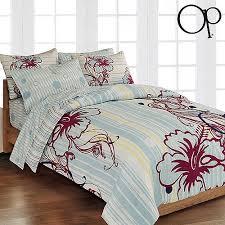 Hibiscus Crib Bedding Op Hibiscus Lounge Bed In A Bag Bedding Set Walmart