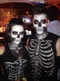 Halloween Costume Skeleton 21 Easy U0026 Fresh Couple Halloween Makeup Ideas