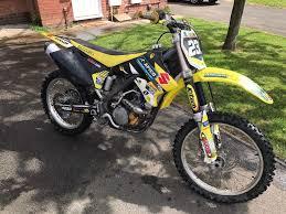 250 motocross bikes 2004 suzuki rmz 250 motocross bike in stafford staffordshire