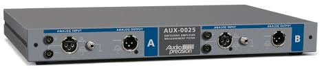aux 0025 0040 0100 switching amplifier measurement filters