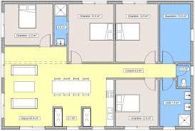 plan de cuisine ouverte sur salle à manger plan de cuisine ouverte plan 03 cuisine ouverte sur le s jour