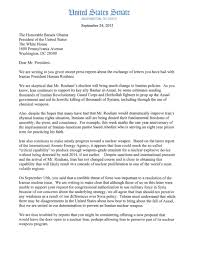 senator roberts increase pressure on iran read his letter to