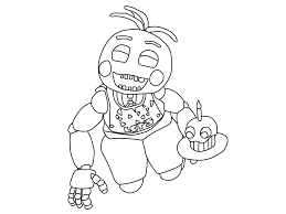 fnaf toy bonnie coloring page alltoys for