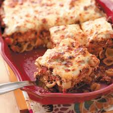 thanksgiving lasagna recipe cheesy shell lasagna recipe taste of home