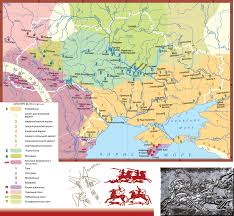 Map Of Ukraine And Crimea Historical And Cartographic Confirmation Of The Crimean Ties With