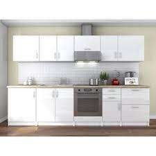 cuisine 3m de cuisine complete avec plan de travail et meuble a four achat