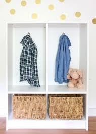kids lockers ikea ikea hack billy bookcase to mini mudroom