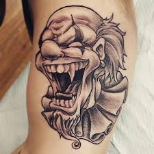 103 realistic clown tattoos designs and ideas collections