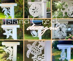 Nautical Themed Mailboxes - coastal themed decorative corner brackets my ideas pinterest