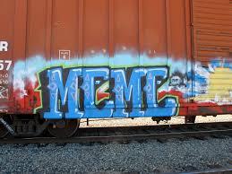 Graffiti Meme - meme graffiti few and far