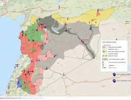 New Middle East Map by Agathocle De Syracuse Syria Conflict Interactive Map 2 Dec 2015